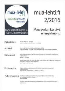 MUA-lehti Lennakki 2-2016